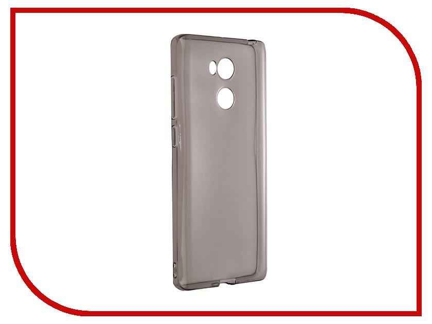 Аксессуар Чехол Xiaomi Redmi 4 Pro Svekla Silicone Grey SV-XIRED4PRO-BL аксессуар защитное стекло activ 3d gold для apple iphone 7 69556