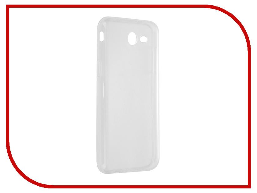 Аксессуар Чехол Samsung Galaxy J3 2017 J327P Svekla Silicone Transparent SV-SGJ327P-WH аксессуар чехол lenovo vibe c2 k10a40 svekla transparent sv lek10a40 wh