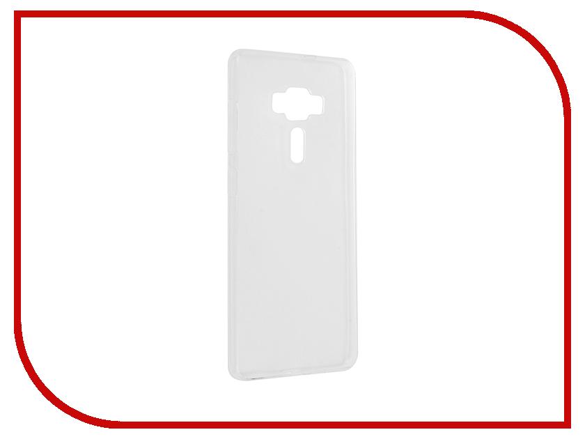 Аксессуар Чехол ASUS ZenFone 3 Deluxe ZS570KL/ZS576KL Svekla Silicone Transparent SV-ASZS570KL-WH аксессуар чехол lenovo vibe c2 k10a40 svekla transparent sv lek10a40 wh