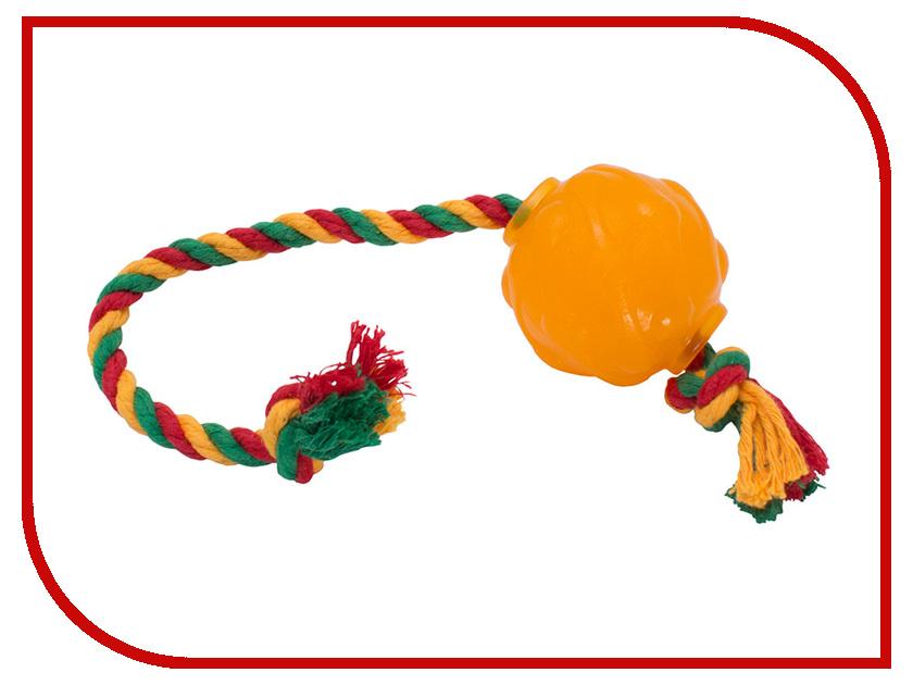 Игрушка Doglike Мяч Космос с канатом с этикеткой