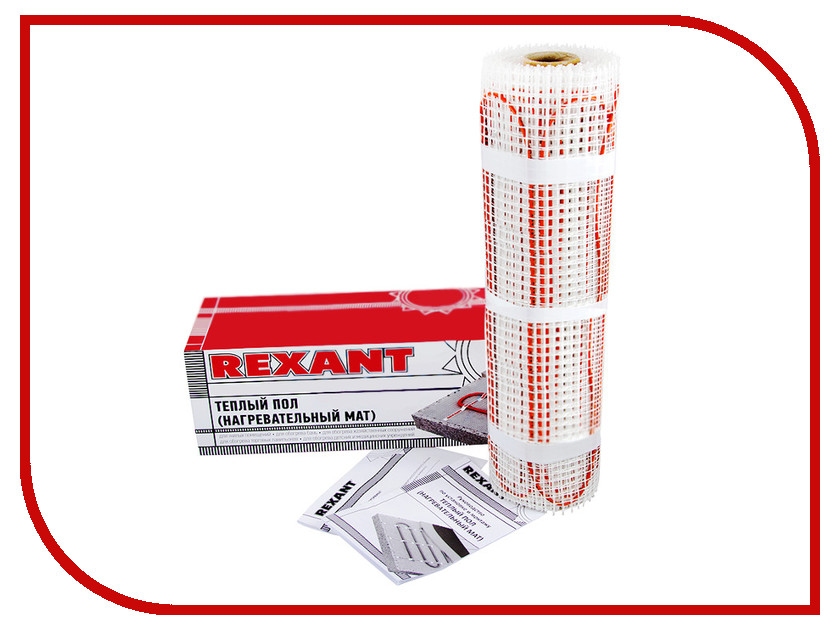 Теплый пол Rexant 800W 5 m2 51-0510 теплый пол rexant rxm 220 0 5 9 51 0512 4