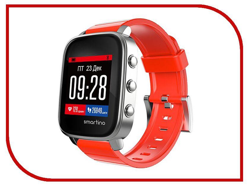 Умные часы Smartino Sport Watch Red