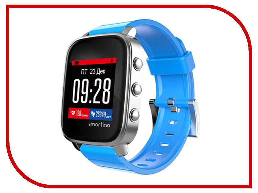 Умные часы Smartino Sport Watch Blue