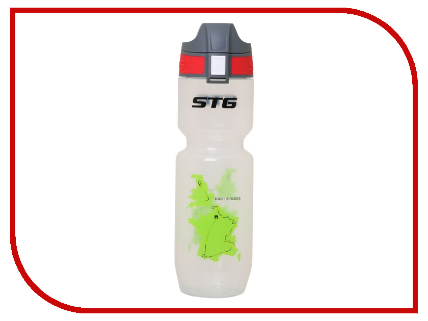 Фляга STG ED-BT21 Tour de France Transparent 750ml Х61861