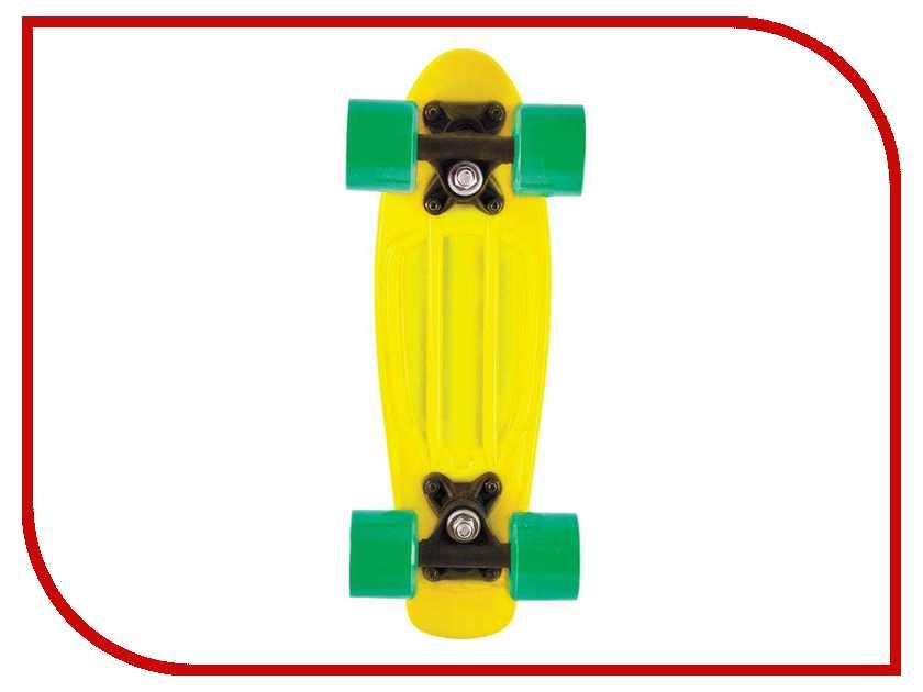 Скейт Novus Yellow NPB-18.04 заклепочник novus j65 as 032 0027