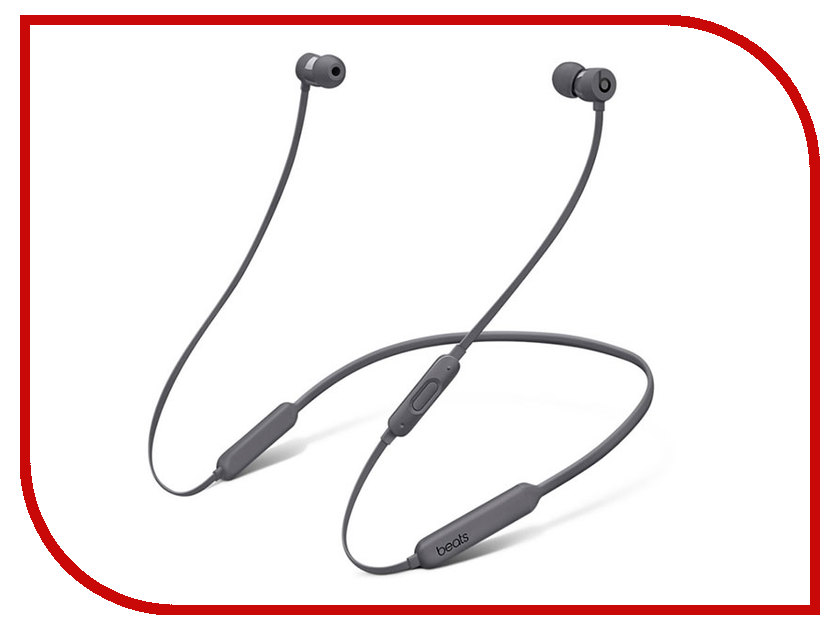 Гарнитура Beats BeatsX Earphones Grey MNLV2ZE/A beats mixr red