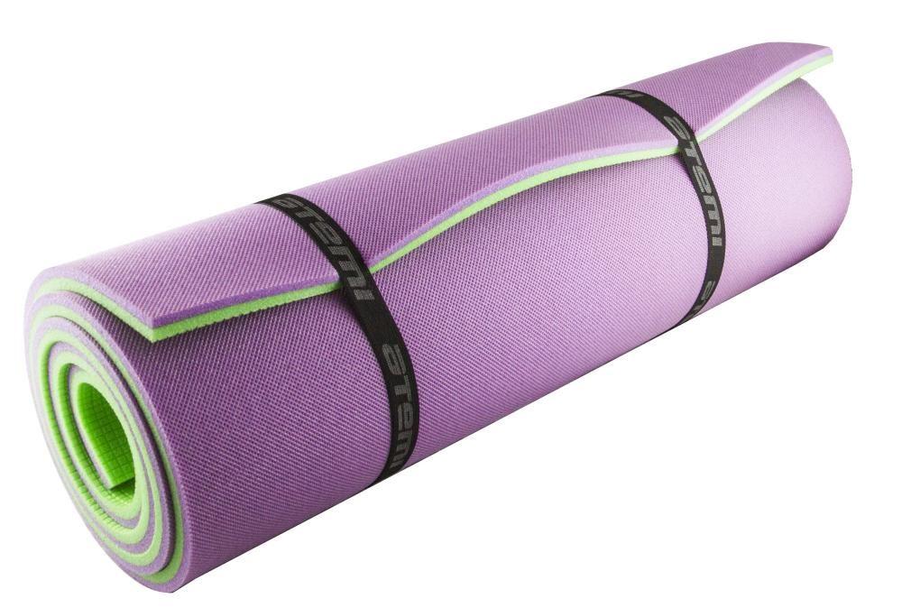 Коврик Atemi 1800x600x12mm Green-Violet