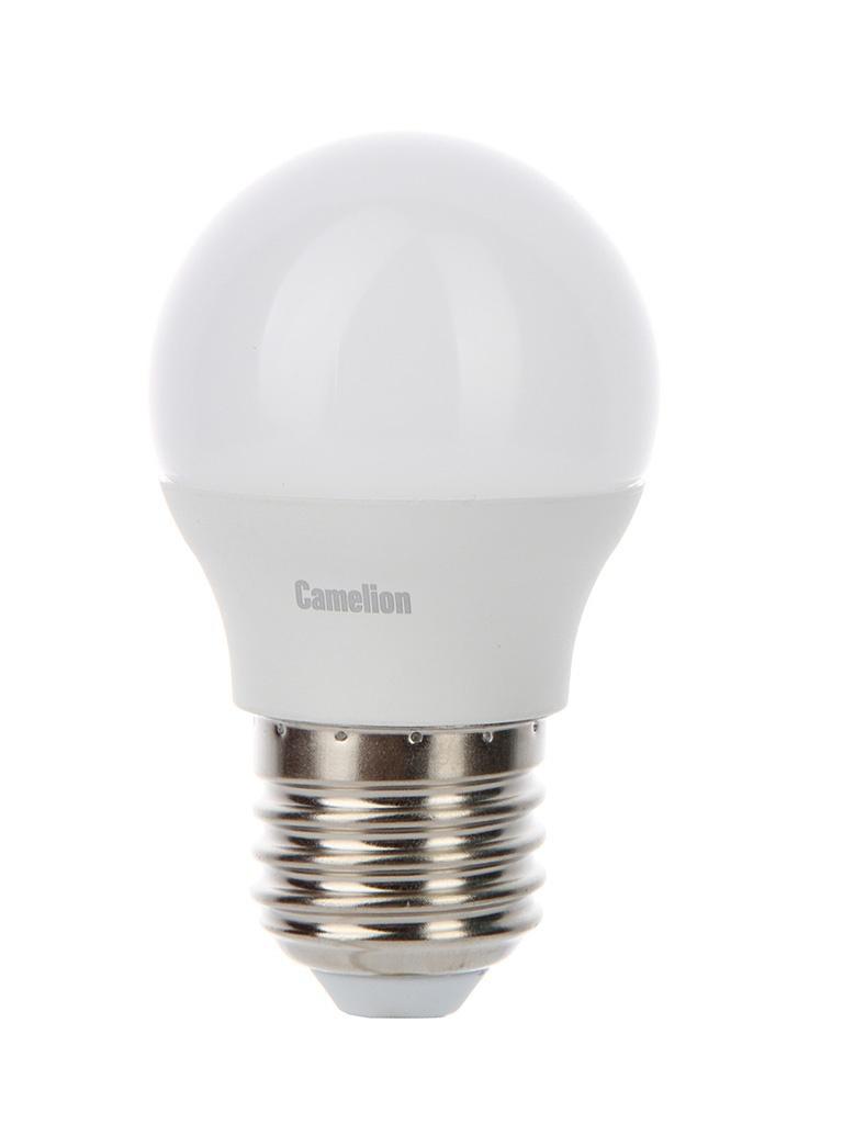 Лампочка Camelion E27 7W 220V 6500K 580Lm LED7-G45/865/E27