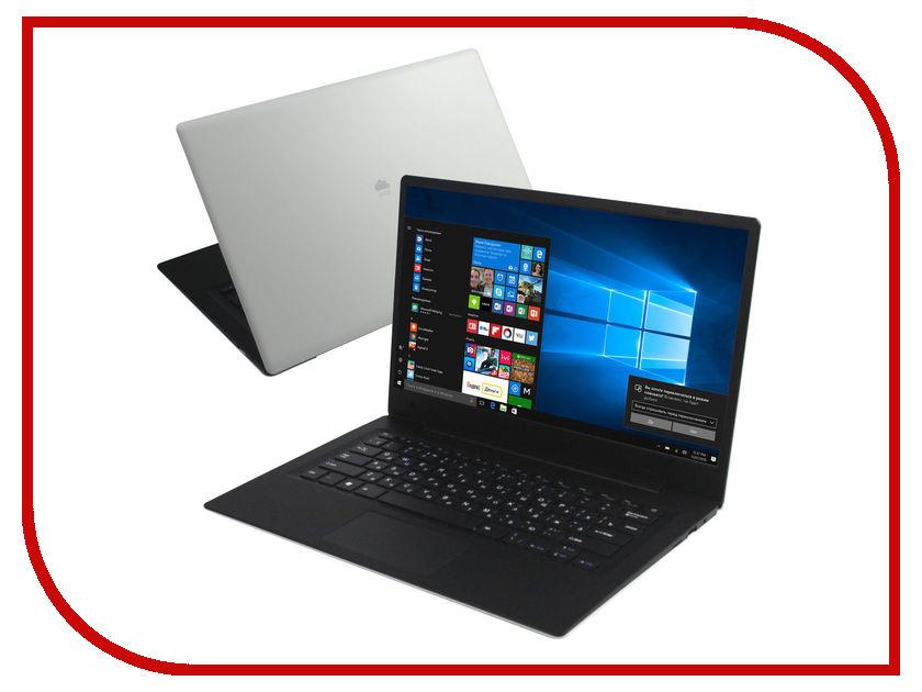Ноутбук KREZ Cloudbook N1402W (Intel Atom x5-Z8350 1.44 GHz/2048Mb/32Gb/No ODD/Intel HD Graphics/Wi-Fi/Bluetooth/Cam/14.0/1366x768/Windows 10)