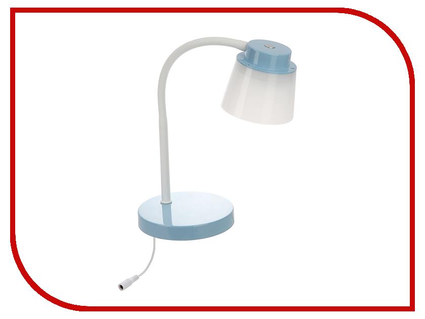 Лампа Camelion KD-791 C13 Cyan настольный светильник голубой led 5вт 230в сенсорное включение 4 уровня яркости 4000к camelion kd 791 c13 12487