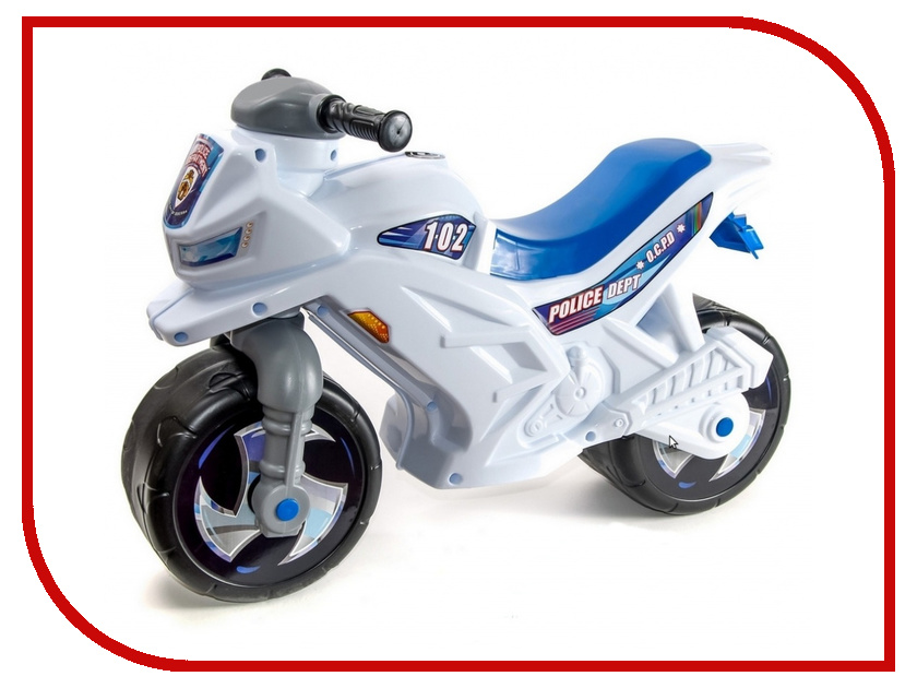 Беговел RT Racer RZ 1 Полиция White-Blue ОР501в4 беговел techteam tt racer blue
