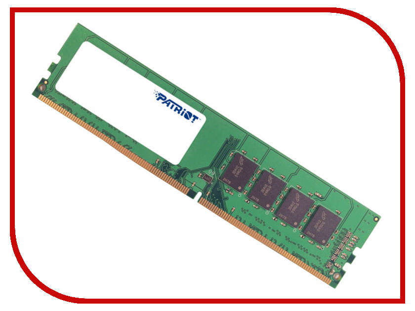 Модуль памяти Patriot Memory DDR4 DIMM 2133Mhz PC4-17000 CL15 - 16Gb PSD416G21332 patriot memory psd48g21332