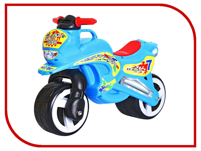 Беговел RT Motorcycle 7 Light Blue