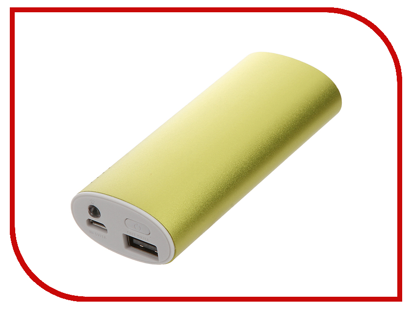 Аккумулятор Aksberry S-5600F 5200mAh Green