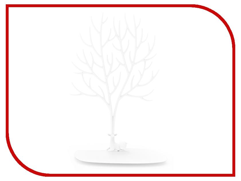 Гаджет Кольцедержатель Эврика Дерево с оленем Большое White 97548