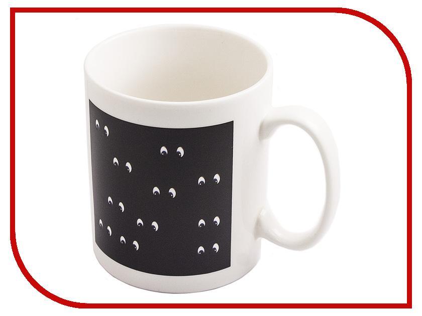 Кружка Эврика кружка-хамелеон Смайлы 97829 кружка с ложкой кошки n 4 эврика 1199487