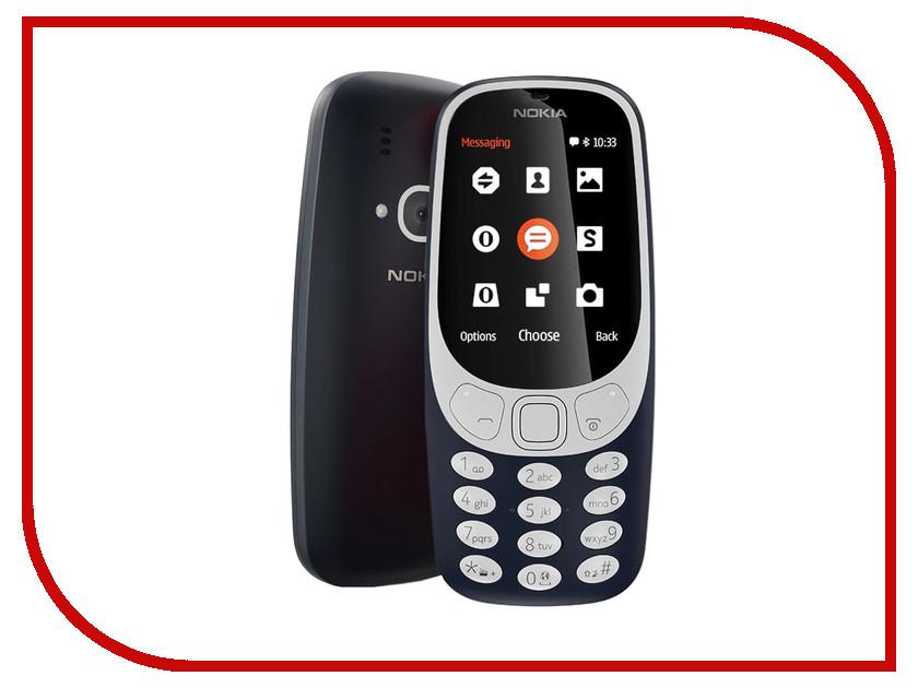Сотовый телефон Nokia 3310 (2017) Blue сотовый телефон nokia 3310 2017 blue