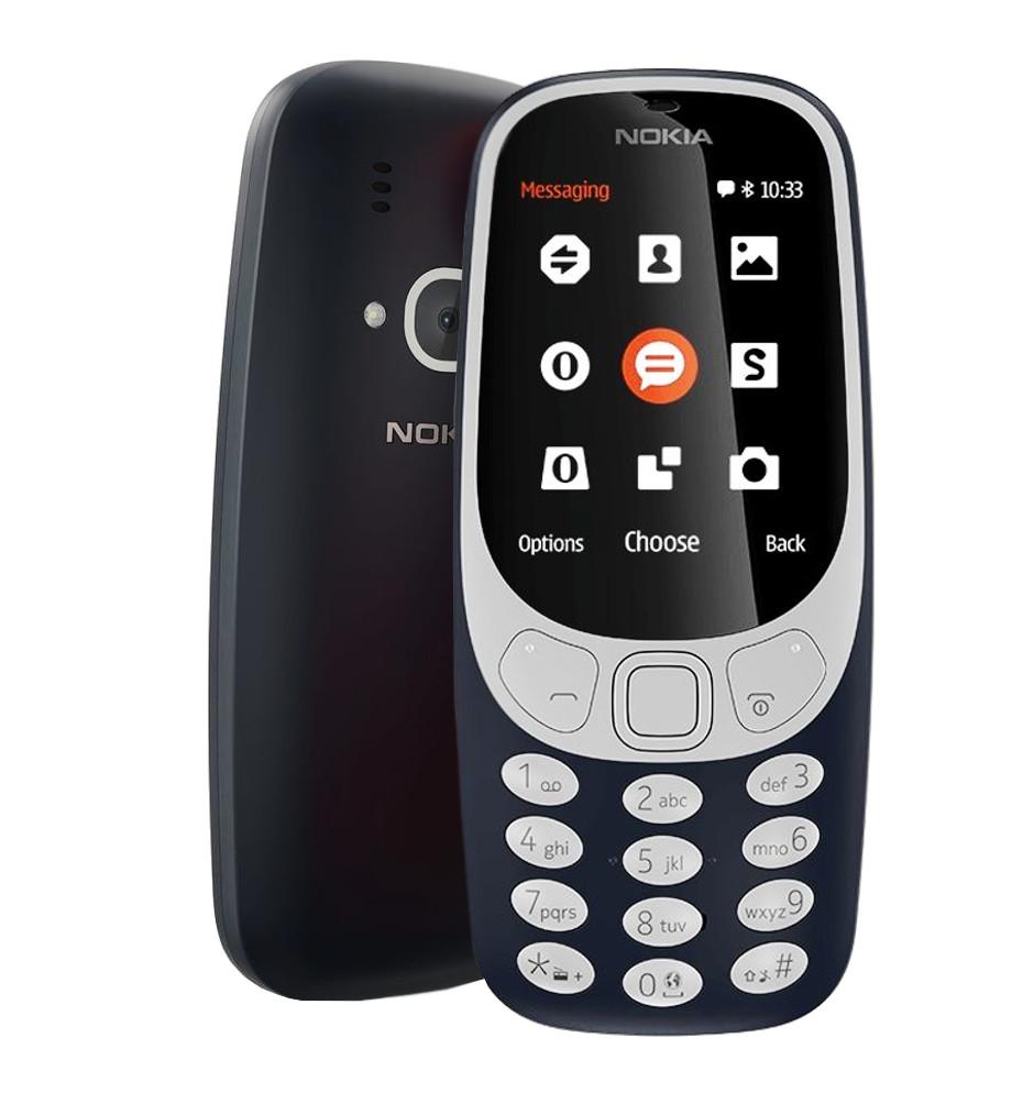 Сотовый телефон Nokia 3310 2017 (TA-1030) Blue сотовый телефон nokia 105 blue
