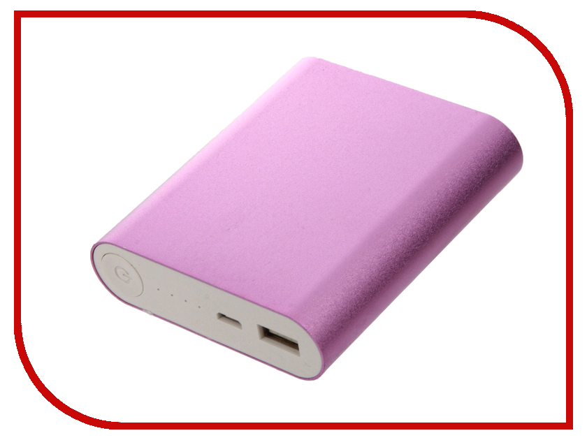 Аккумулятор Aksberry S-10400M 10400mAh Pink  6870c 0303b logic board t con for lc320wxe