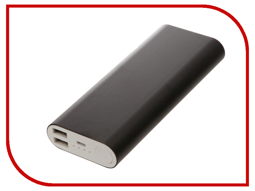 Аккумулятор Aksberry S-10000BG 16000mAh Black
