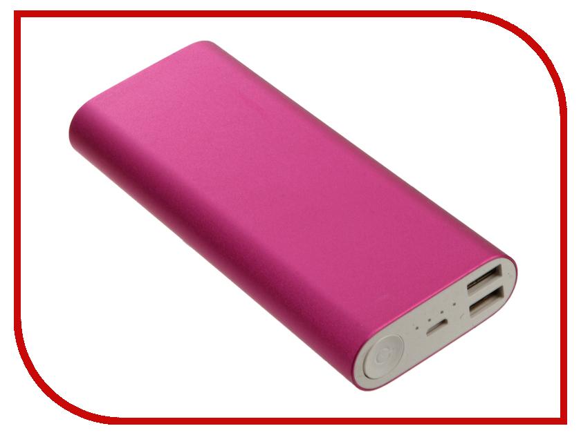 Аккумулятор Aksberry S-10000BG 16000mAh Pink<br>