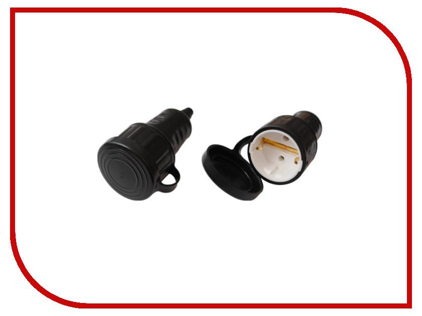 Розетка ProConnect Р16-361 16A 250V 11-8511 2 pcs ac 250v 16a rotating pins power adapter connector us au plug