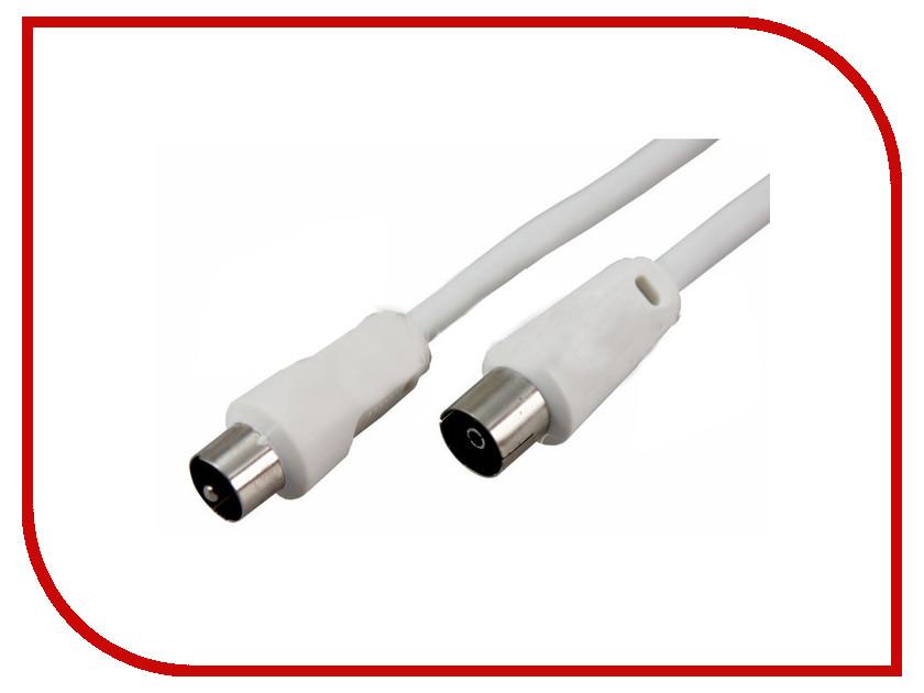 купить Шнур Rexant Plug TV - Jack TV 1.5m White 18-0002