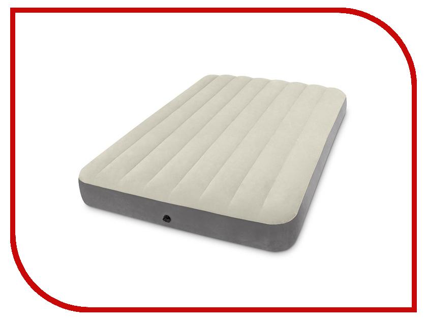 Надувной матрас Intex Deluxe Single-High 137x191x25cm 64708 / 64102 intex intex матрас кровать full deluxe надувной