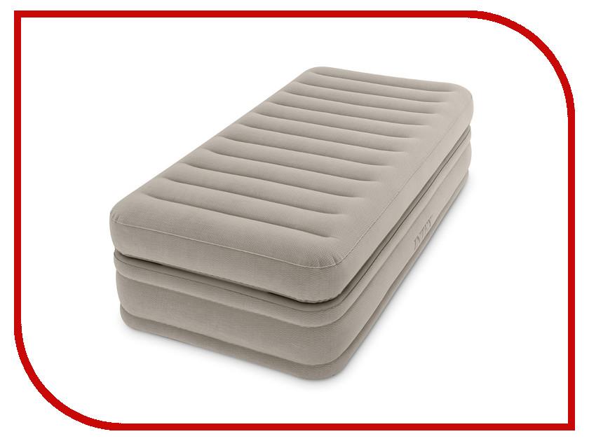 Надувной матрас Intex 99x191x51cm 64444 кровать надувная односпальная intex prime comfort со встроенным насосом 220в 64444