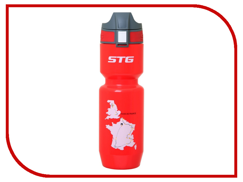 Фляга STG ED-BT21 Tour de France Red 750ml X66452