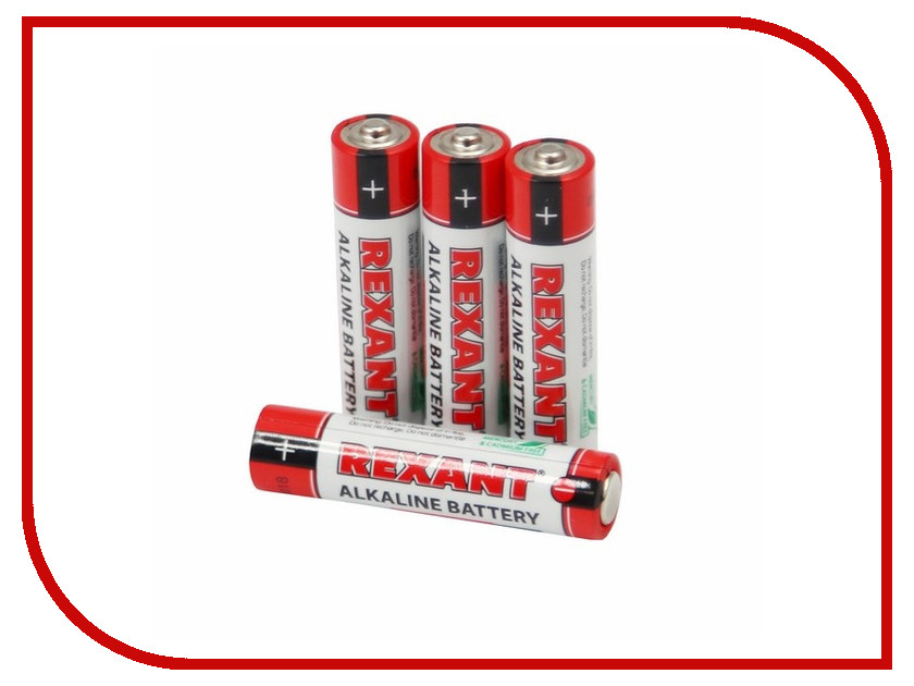 Батарейка AAA - Rexant LR03 1200 mAh 30-1012 батарейка rexant lr45 ag9 lr936 g9 194 gp94a 394 sr936w 30 1032 2 штуки