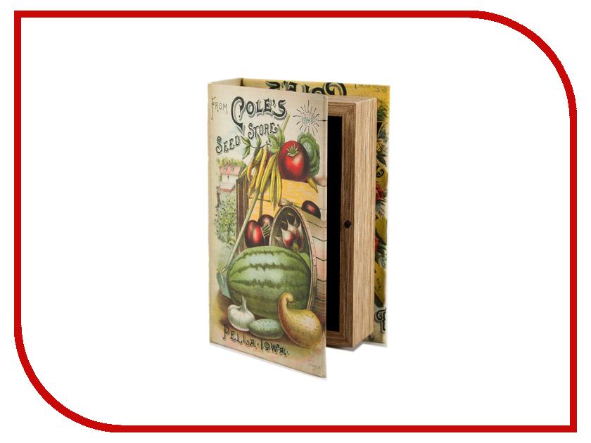 Шкатулка Русские подарки Кладовая садовода 17x11x5cm 184297<br>