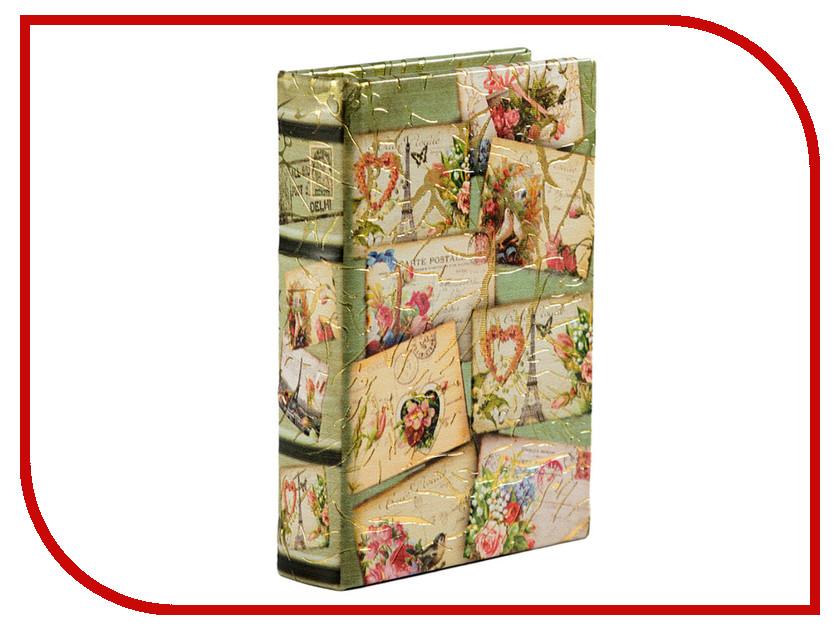 Шкатулка Русские подарки Почтовая открытка 14x10x3cm 184283