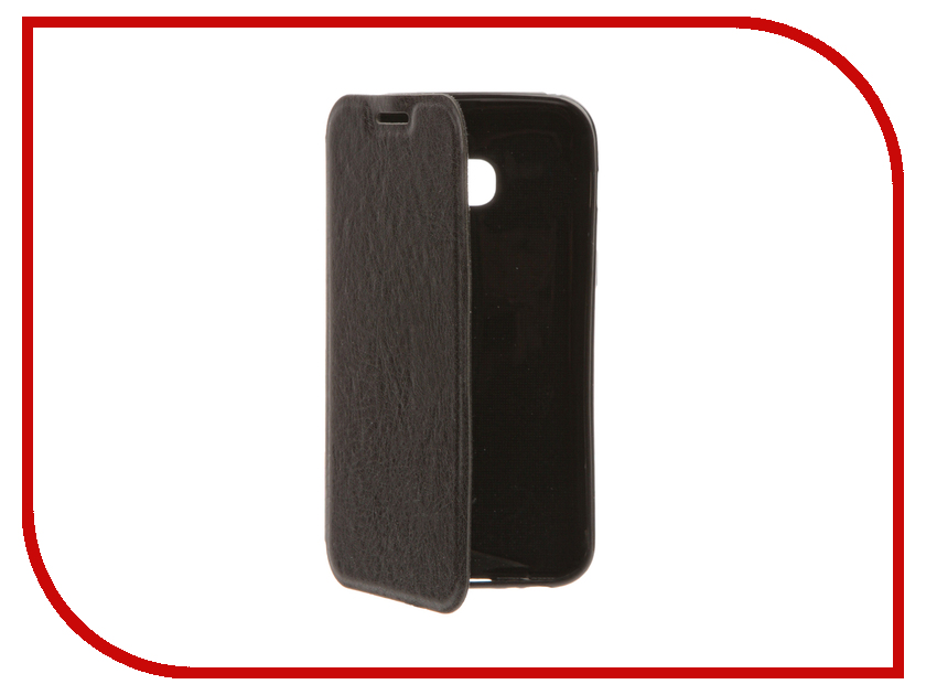 Аксессуар Чехол Samsung Galaxy A3 2017 Cojess Book Case A Black с визитницей аксессуар чехол samsung galaxy j5 prime g570 celly air case black air640bk