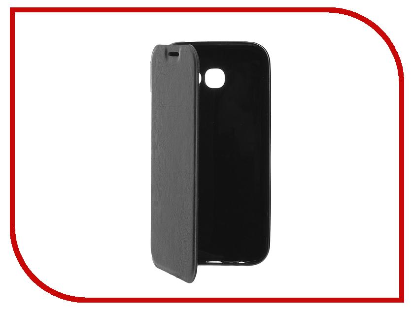 Аксессуар Чехол Samsung Galaxy A5 2017 Cojess Book Case A Black с визитницей аксессуар чехол samsung galaxy a3 2016 cojess book case time black с окном