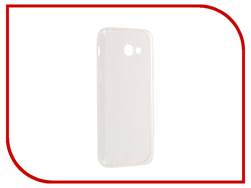 Аксессуар Чехол Samsung Galaxy A5 2017 Cojess Silicone TPU 0.3mm Transparent аксессуар чехол samsung galaxy a3 2017 cojess tpu 0 5mm transparent