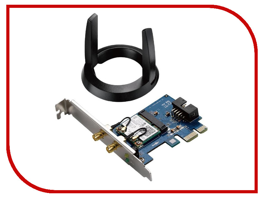 Wi-Fi адаптер ASUS PCE-AC55BT цена и фото