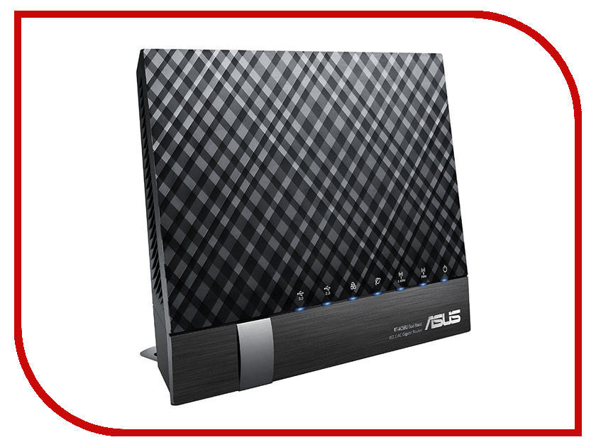 Wi-Fi роутер ASUS DSL-AC56U wi fi роутер asus rt ac88u