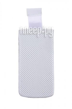 Аксессуар Чехол-кармашек PU White 95x45мм