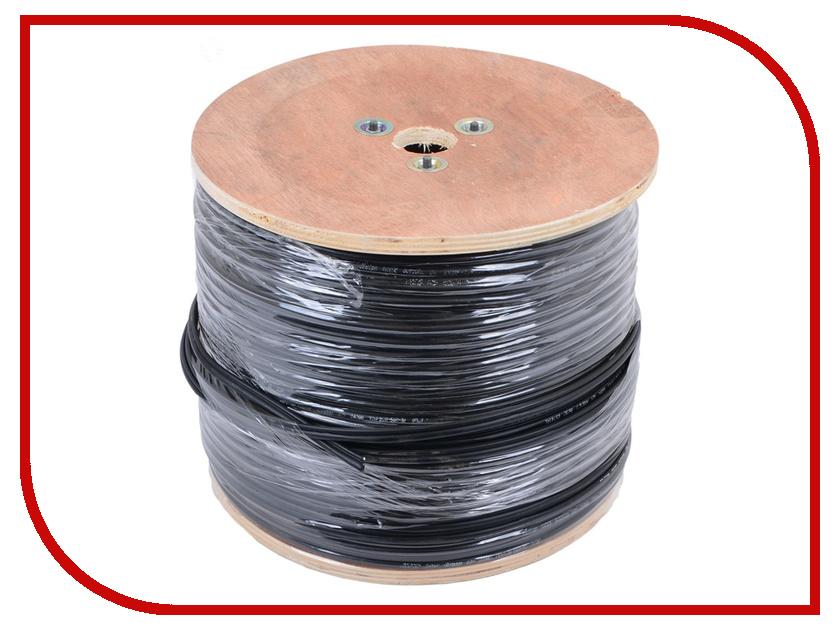 Сетевой кабель ATcom FTP cat.5e CCA 305m АТ3706 кабель atcom power supply cable 1 8m 0 75mm at10117