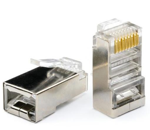 Коннектор ATcom RJ45 FTP АТ0698 - 100шт