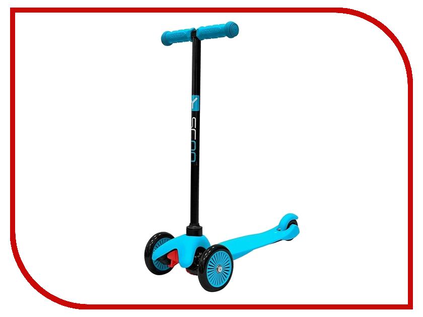 Самокат Y-SCOO mini Simple A-5 Blue с цветными колесами y scoo mini glam купить