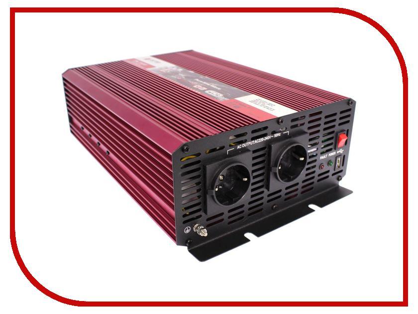Автоинвертор AcmePower AP-PS-1500/24 (1500Вт) с 24В на 220В автоинвертор acmepower ap ps1000 12 1000вт преобразователь с 12в на 220в
