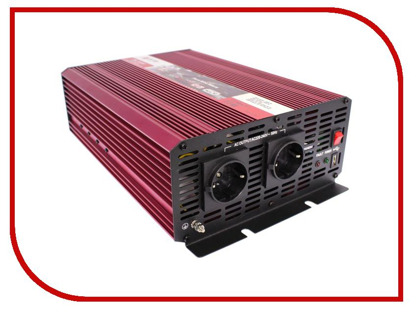 Автоинвертор AcmePower AP-PS-1500/24 (1500Вт) с 24В на 220В