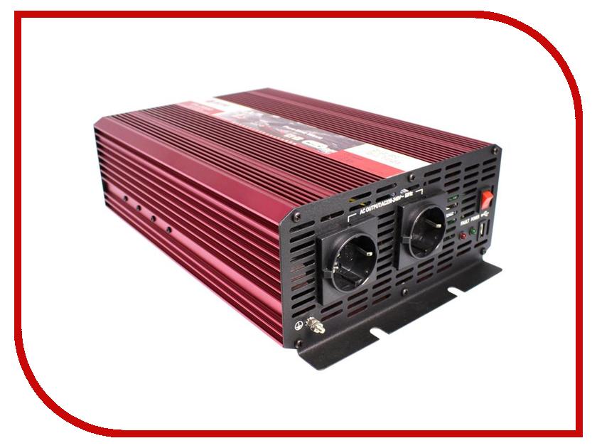 Автоинвертор AcmePower AP-PS-2000/24 (2000Вт) с 24В на 220В<br>