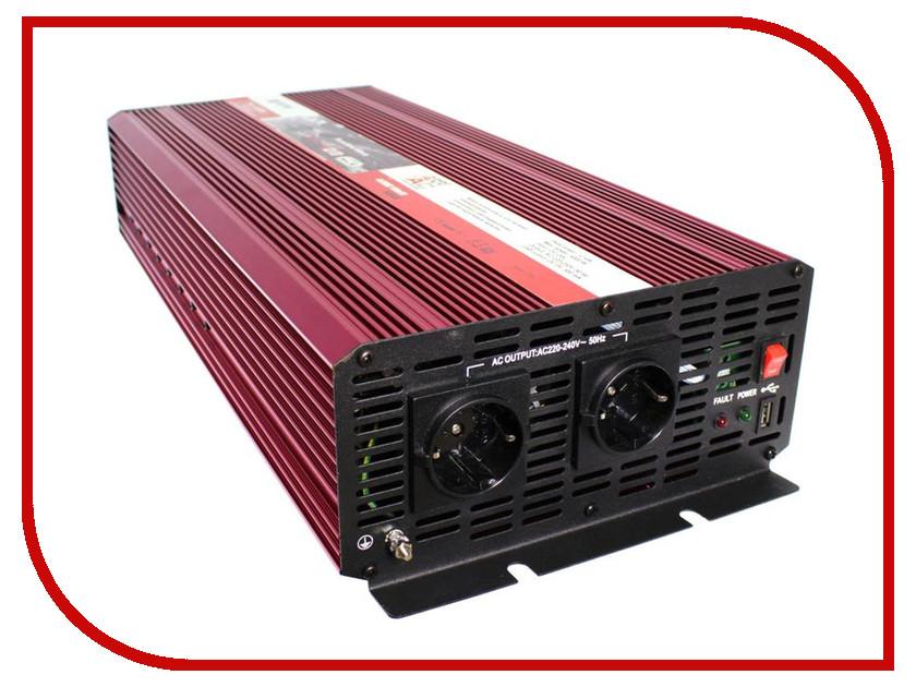 Автоинвертор AcmePower AP-PS-4000/24 (4000Вт) с 24В на 220В