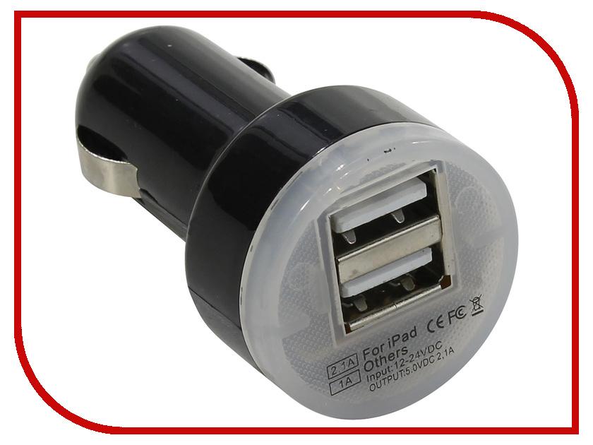 Зарядное устройство VCOM CA851A 2xUSB 1A / 2.1A<br>
