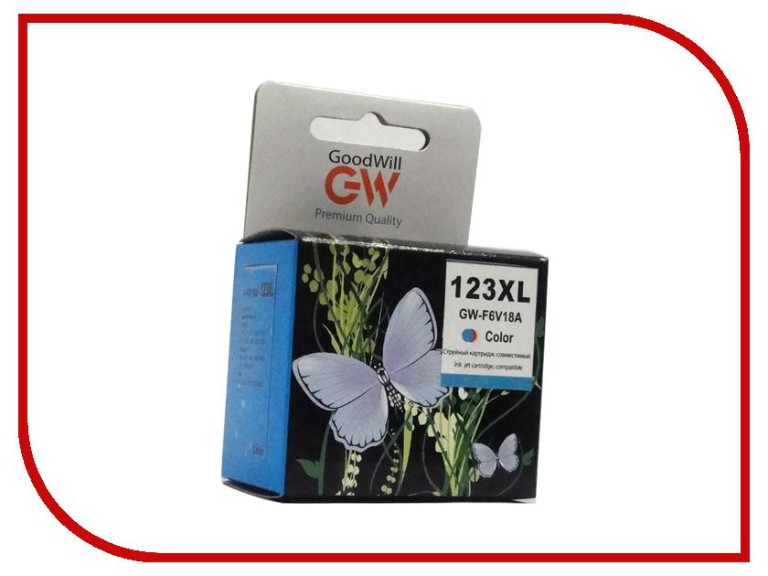 Картридж GoodWill GW-F6V18AE Color для DJ 2130 Compatible lg gw b489sqgz