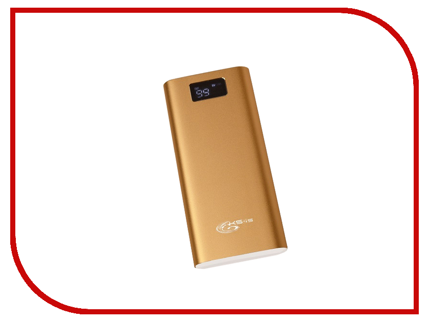Аккумулятор KS-is KS-316 30000mAh Gold аккумулятор ks is ks 303 20000mah blue black yellow