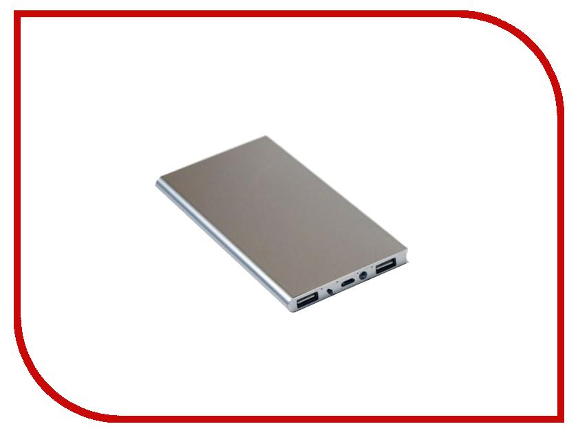 Аккумулятор KS-is KS-279 10000mAh Silver внешний аккумулятор ks is ks 229green 16800mah зеленый